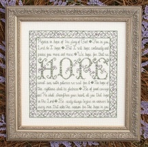 Building Blocks Hope MBT029 cross stitch chart My Big Toe Designs - $8.00