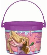 Tangled Disney Princess Rapunzel Birthday Party Favor Plastic Bucket Container - $9.45