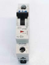 Eaton FAZ-C3/1 Circuit Breaker 3 Amps  - $3.33