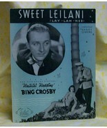 Sweet :Leilani Sheet Music Bing Crosby - $7.00