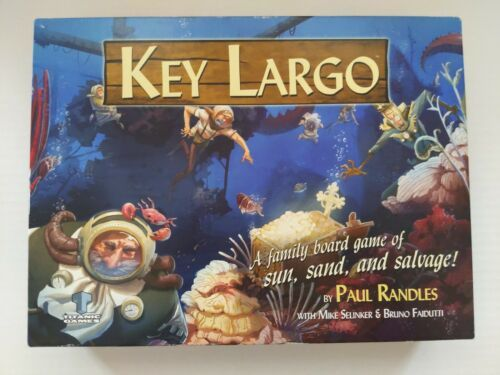 Primary image for Key Largo Board Game Paul Randles Titanic Games 3-5 Players
