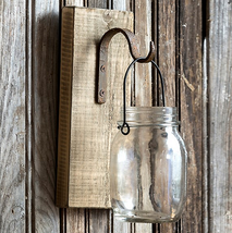 Hanging Canning Jar on Wood - $47.52