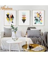 Almudena® Modern Simple Abstract Geometric Nordic Style Living Room Wall... - $5.68+