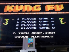 Kung Fu (Nintendo Entertainment System, 1985) NES  Tested with Sleeve - $8.59