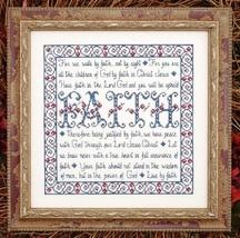 Building Blocks Faith MBT034 cross stitch chart My Big Toe Designs - $8.00