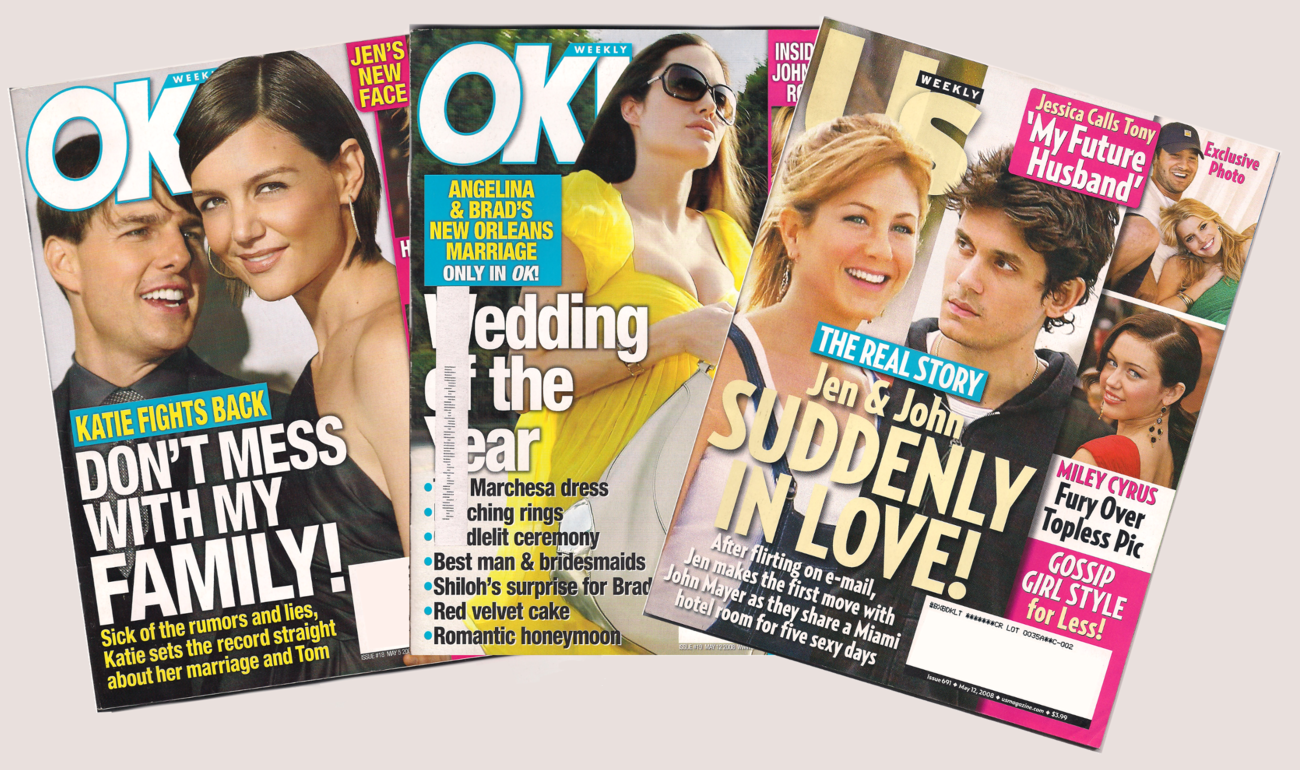 Back Issues of OK and Us Weekly