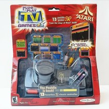 Atari Paddle Plug n Play Tv 13 Games 2004 Jakks Pacific - $39.59