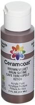 Plaid acrylic paint Serum coat Brown Velvet CE-2109 2oz. - $7.75