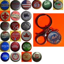 NY Mets Baseball Coke Sprite Diet pepsi & more Soda beer cap Keychain image 1
