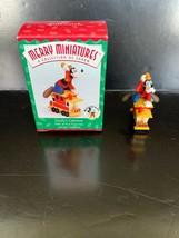 Hallmark Merry Miniatures Goofy's Caboose #5 in Series 1998 - $7.50