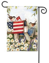 BreezeArt Patriotic Mailbox Garden Flag - $12.61