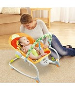 Electric Rocker Baby Swing Infant Portable Cradle Bouncer Seat Sway Chai... - $116.77