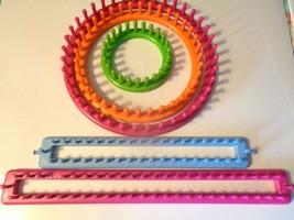 3 Boye Knitting Loom Set & 2 New Rectangle Long looms - $9.89