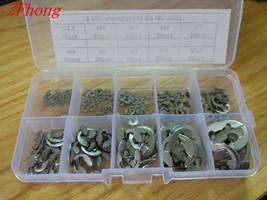 200PCS/Lot 304 Stainless Steel E Clip washer Assortment Kit Circlip reta... - $19.95