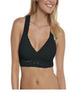No Boundaries women's bralette  lace cross back padded Black 2XL  new - $11.87