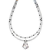 Double Strand Crystal Vibe Necklace image 3