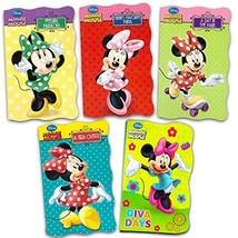 Disney Minnie Mouse Ultimate Board Books Set For Kids Toddlers -- Pack o... - $21.72
