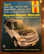 Haynes  36059 Ford Pick-ups 1997-2003, Expedition 1997-2012 Repair Manual - $9.99
