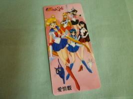 Sailor moon bookmark card sailormoon anime  all inner outer 2 cats - $6.00