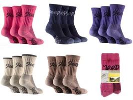 Jeep - 3 paires femme antibactérien renforcées coton chaussettes de rand... - $11.73