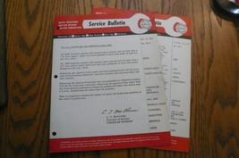 MOPAR 2 Chrysler Imperial Service Tech Bulletin Body Sheet Metal # 58-6 #58-7 - $9.74