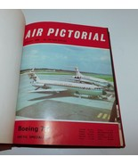 AIR PICTORIAL 1970 12 Issues Hardbound Military Jets, Bombers Aviation, ... - $29.02