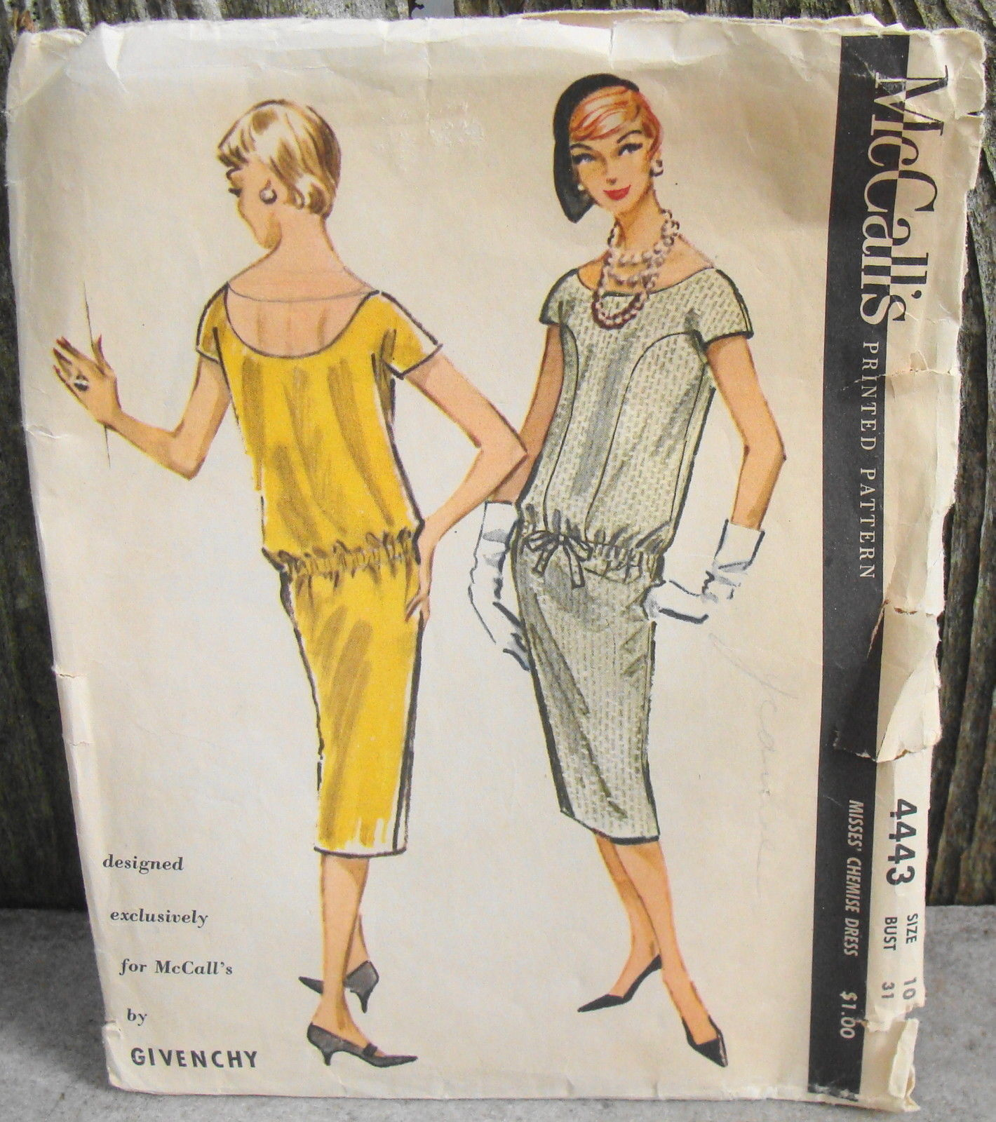 McCall's 4443 Givenchy 1958 Chemise Dress and 40 similar items