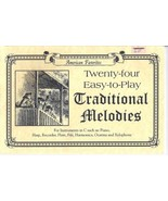 Twenty-four Easy-to-Play Traditional Melodies for instruments in C - $7.00