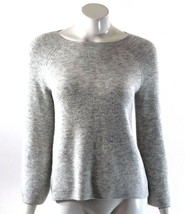 Ann Taylor LOFT Sweater Size Small Light Gray Bell Sleeve Pullover Solid Womens - $19.79