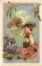 A Joyful Easter Paul Finkenrath of Berlin Post Card - $6.00