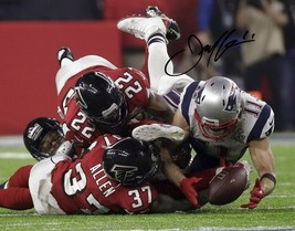 Julian Edelman Signed Photo 8X10 Rp Autographed Superbowl Miracle Catch - $19.99