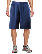 Men's Basketball Athletic Workout Active Lightweight Mesh Fitness Sports Shorts image 14