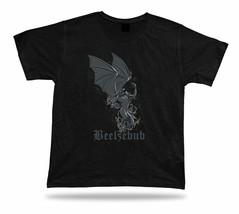 Beelzebub lion humor funny charm tricot Tshirt Tee special gift textile ... - $7.57