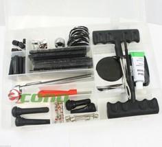 82pc Tire Repair KIT DIY Tools Plugs Fix Punctured Flat Tires for Car Tr... - $19.99