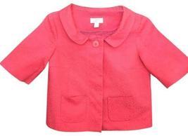 ANN TAYLOR LOFT Petites Career Jacket Coat Coral Blazer Career 2P Textured - $25.00