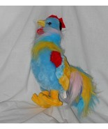 plush 12 inch rooster - $5.00