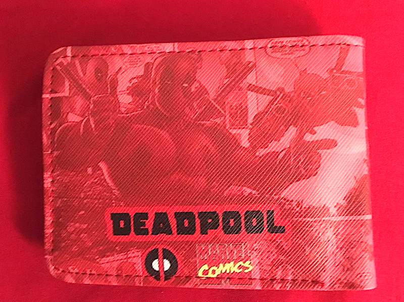 Red Deadpool  Bifold Wallet—More Movie  Character Wallets Available Too!