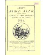 reprint of Ayer's American Almanac (1864) - $6.00