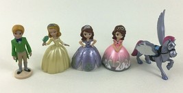 Sofia The First Toy PVC Figure 5pc Lot Disney Amber Prince James Minimus - $18.76