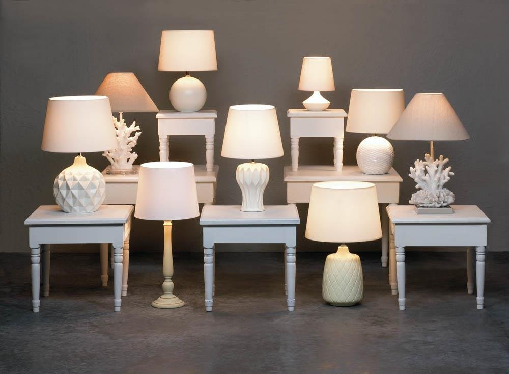 Bedside Table Lamp, White Coral Bedroom Living Room Decorative Lamps Table