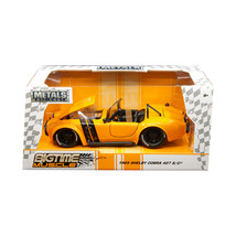 1965 Shelby Cobra 427 S/C Orange with Black Stripes Bigtime Muscle 1/24 ... - $29.58