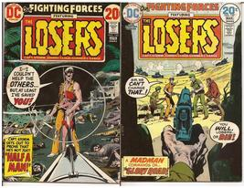 DC Our Fighting Forces Lot Issues #142 & 147 The Losers War Battlefield ... - $4.95