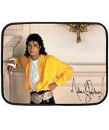 "Michael Jackson Autograph Fleece Blanket 27""X35"" (Mini)-HOT  - $24.00"
