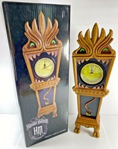 NEW Disney The Haunted Mansion 13 Hour Glow In The Dark Resin Table Clock  - $92.06