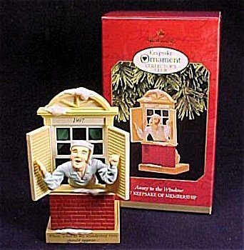 Hallmark Keepsake Ornament Club Exclusive Away to The Window 1997 - $5.94