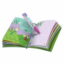 Leapfrog LeapReader Pink Features available in select books only new - $42.01