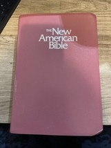 Holy Bible The New American Bible NAB,Red Letter,1991 Catholic World #24... - $11.29