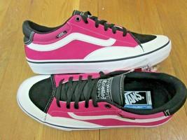 bc8011e8da Vans Mens TNT Advanced Prototype Skate shoes Black Magenta White Size 12...  -