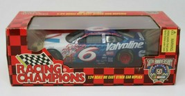1998 Racing Champions Valvoline #6 Mark Martin Revell 1:24th Race Car w/... - $31.69