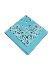 "3 Pack USA Made Premium Cotton Head Wrap Scarf Bandana Multiple Colors 21"" X 21"" image 12"